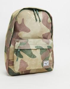Классический рюкзак с камуфляжным принтом Herschel Supply Co-Красный