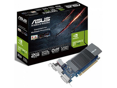 Видеокарта ASUS GeForce GT 710 954Mhz PCI-E 2.0 2048Mb 5012Mhz 64 bit DVI VGA HDMI HDCP GT710-SL-2GD5-DI