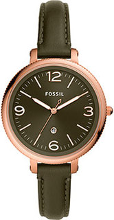 fashion наручные женские часы Fossil ES4944. Коллекция Monroe