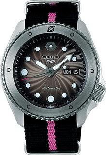 Японские наручные мужские часы Seiko SRPF65K1. Коллекция NARUTO & BORUTO