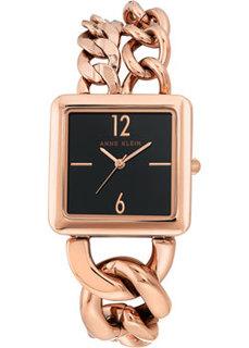 fashion наручные женские часы Anne Klein 3804BKRG. Коллекция Metals