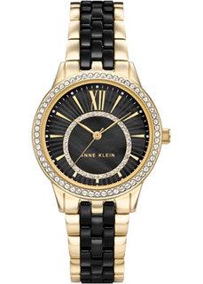 fashion наручные женские часы Anne Klein 3672BKGB. Коллекция Ceramic