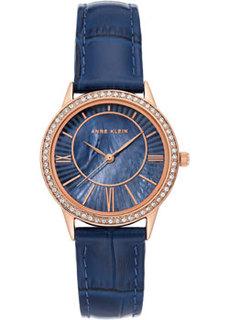 fashion наручные женские часы Anne Klein 3688RGNV. Коллекция Leather