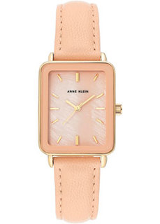 fashion наручные женские часы Anne Klein 3518GPBH. Коллекция Leather
