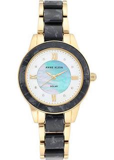 fashion наручные женские часы Anne Klein 3610GPBK. Коллекция Considered
