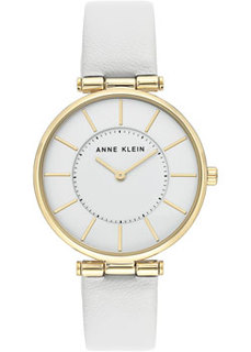 fashion наручные женские часы Anne Klein 3696WTWT. Коллекция Leather