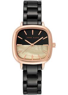 fashion наручные женские часы Anne Klein 3704RGBK. Коллекция Ceramic