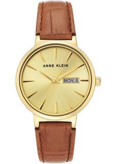 fashion наручные женские часы Anne Klein 3824CHHY. Коллекция Leather