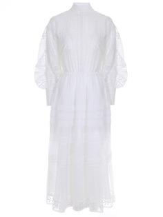 Платье с шитьем-кружевом Ermanno Scervino