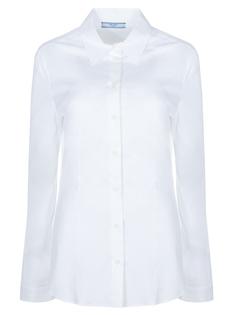 Рубашка хлопковая Prada