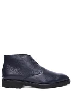 Ботинки кожаные на меху Moreschi