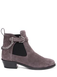 Ботинки замшевые Salvatore Ferragamo
