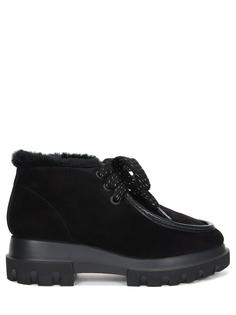Ботинки замшевые на овчине Pertini