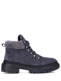 Ботинки замшевые на меху Stokton