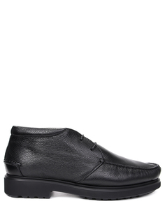 Ботинки кожаные на меху Blu/Barrett