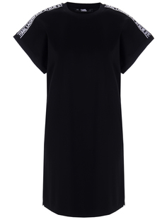 Платье-футболка хлопковое Karl Lagerfeld
