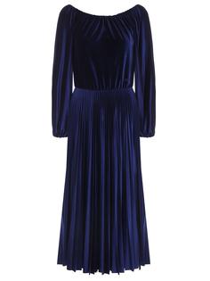 Платье бархатное Valentino