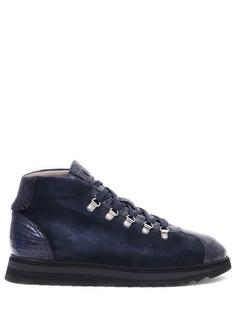 Замшевые ботинки Doucal's