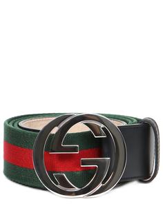 Ремень комбинированный Gucci