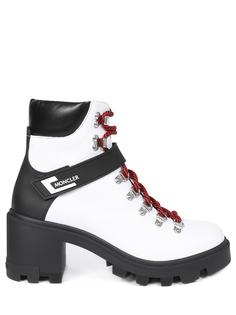 Ботинки кожаные Moncler