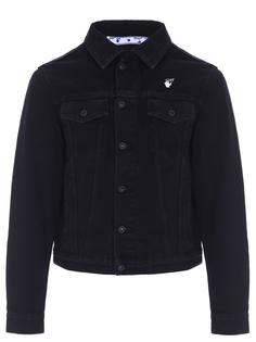 Куртка джинсовая с принтом Off White
