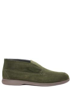 Ботинки замшевые Moreschi
