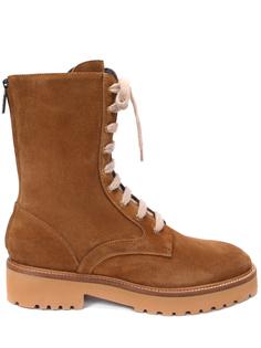 Ботинки замшевые на байке Doucal's