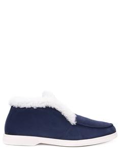 Ботинки замшевые на меху Aldo Brue