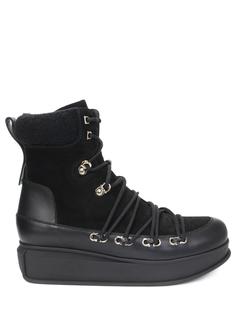 Ботинки комбинированные S.Ferragamo