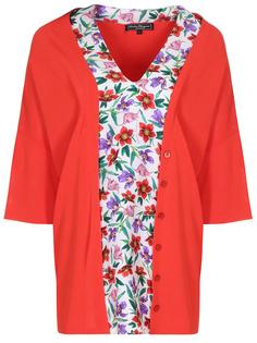 Комбинированная блуза Salvatore Ferragamo