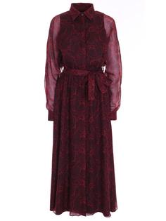Платье с принтом Via Cappella