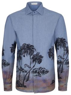 Рубашка regular fit с принтом Etro