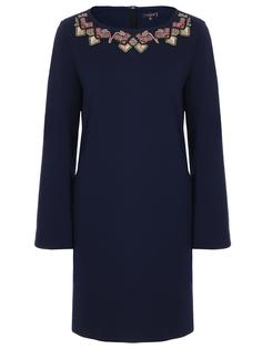 Шерстяное платье-трапеция Etro