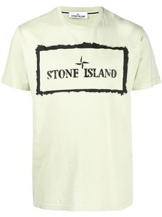 Stone Island футболка с короткими рукавами и логотипом