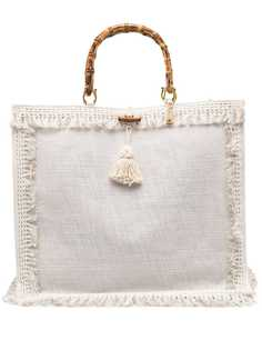 la milanesa сумка на плечо с кисточками