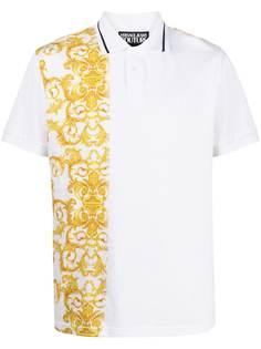 Versace Jeans Couture рубашка поло с принтом Barocco