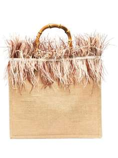 la milanesa сумка на плечо с бахромой
