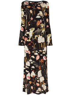 ETRO платье макси Corfu с цветочным принтом