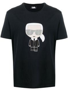 Karl Lagerfeld футболка Ikonik с короткими рукавами
