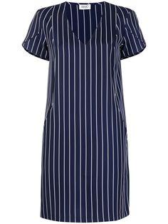 LIU JO полосатое платье-футболка