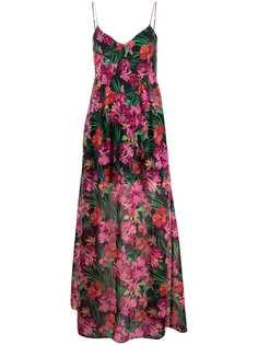 Patrizia Pepe платье макси с принтом
