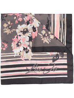 LIU JO платок с цветочным принтом