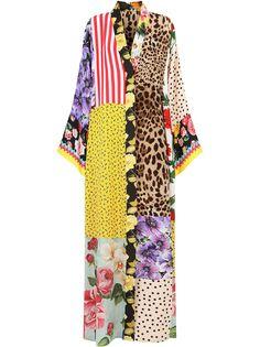 Dolce & Gabbana платье со вставками и V-образным вырезом