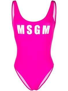 MSGM купальник с логотипом