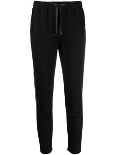 LIU JO спортивные брюки с цепочками