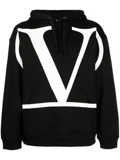 Valentino худи с логотипом VLogo Signature