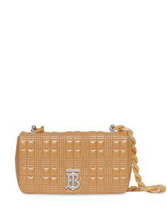 Burberry стеганая сумка через плечо