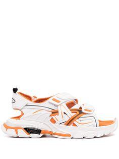 Balenciaga сандалии Track со вставками