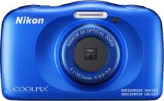 Компактный фотоаппарат Nikon Coolpix W150 Blue Backpack Kit