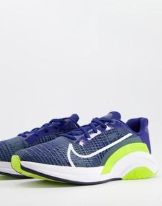 Синие кроссовки Nike Training SuperRep Surge-Черный цвет